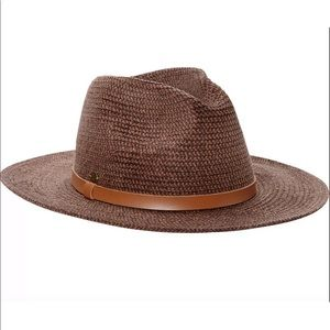 Authentic Karen Kane Hats Tweed Braid Fedora Hat